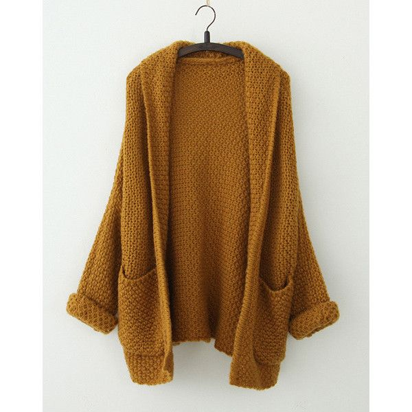 Plus Size Long Sleeve Turn Down Collar Women s Cardigan ($28 ...