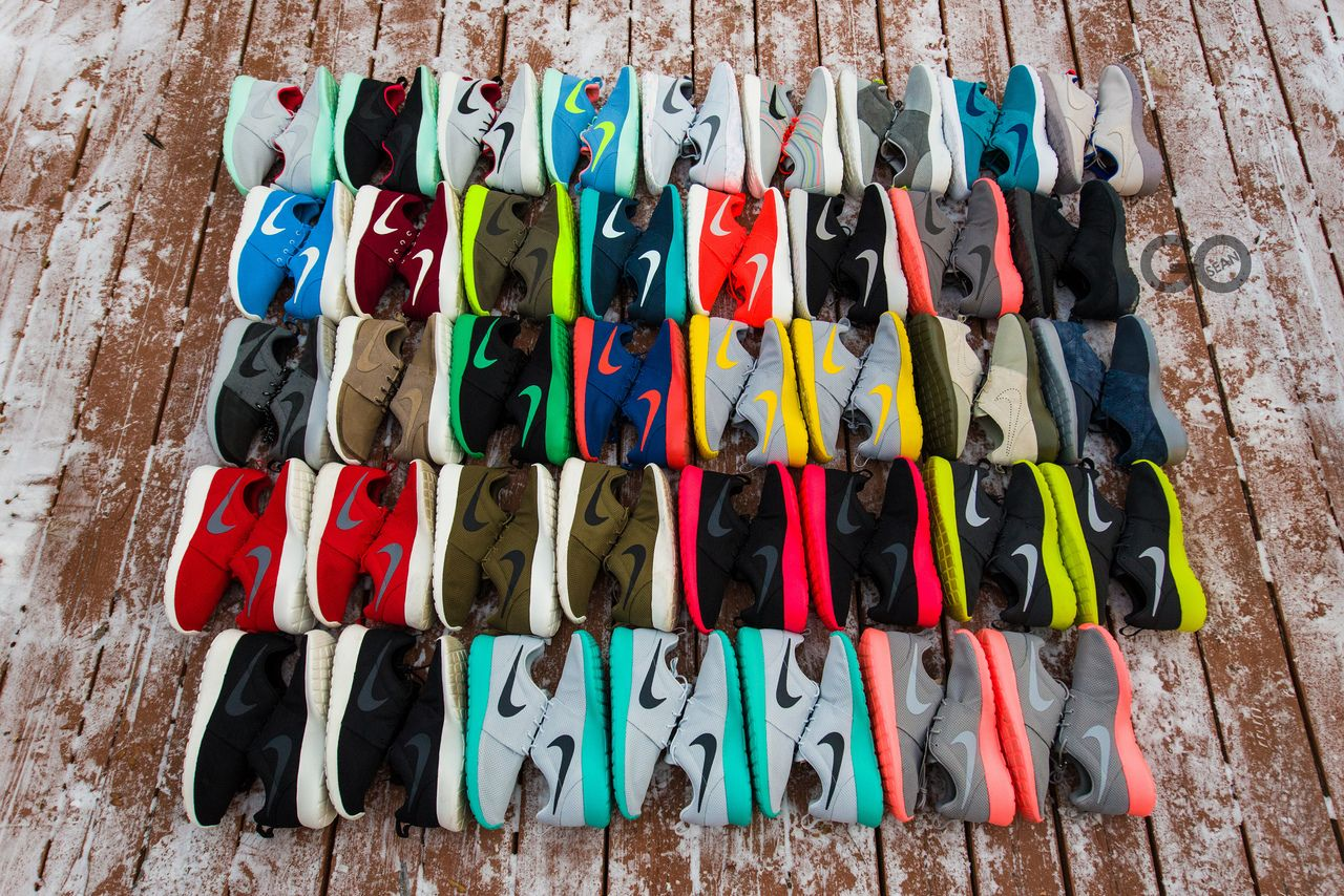 Roshe Run Collection sneakers Nike sneakers obsessed Pinterest