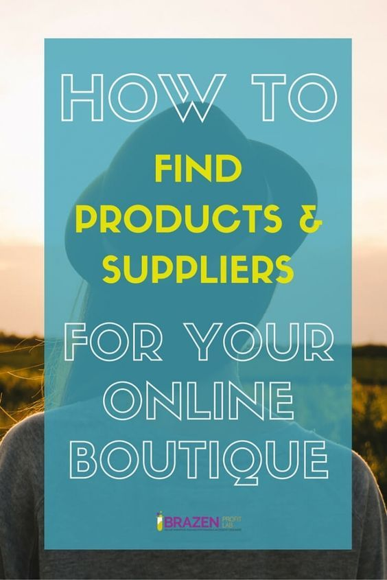 How To Find Suppliers For Online Boutique