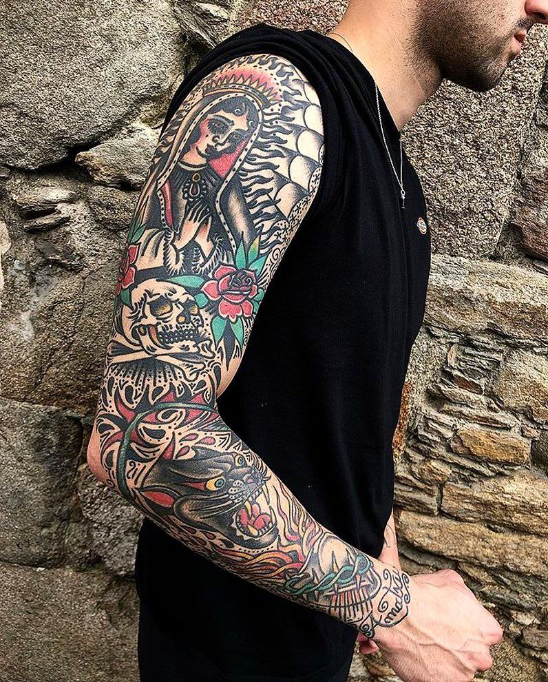 Pin By Levi Levi On Tattoos Traditional Tattoo Man Traditional Tattoo American Traditional Tattoo