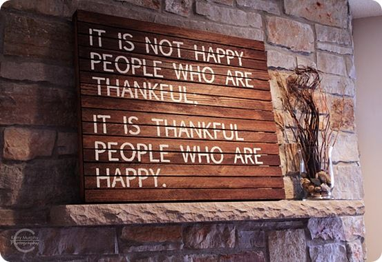 Such a wonderful thankful quote!