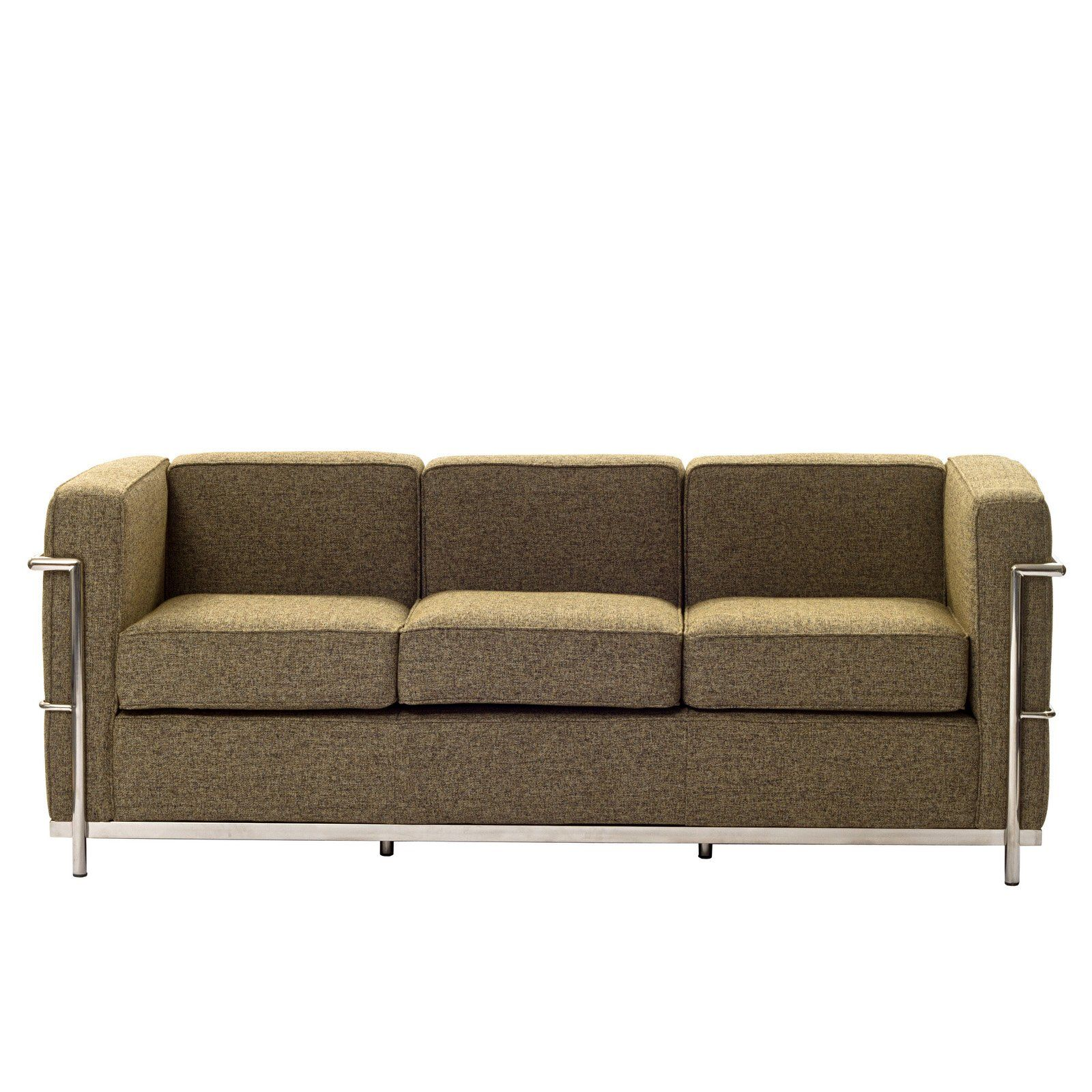 Charles Wool Petite Sofa in Oatmeal Furniture