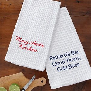This Is So Cool You Can Create Your Own Kitchen Towels These Are