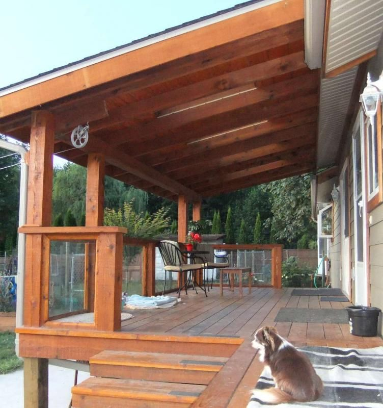 Partial Cover For Existing Deck