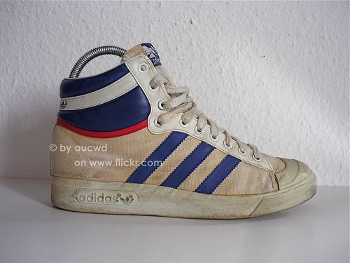 Adidas Ten 70`s 80`s Basketball Vintage Hi ShoesSeventies Top TFJK31cl