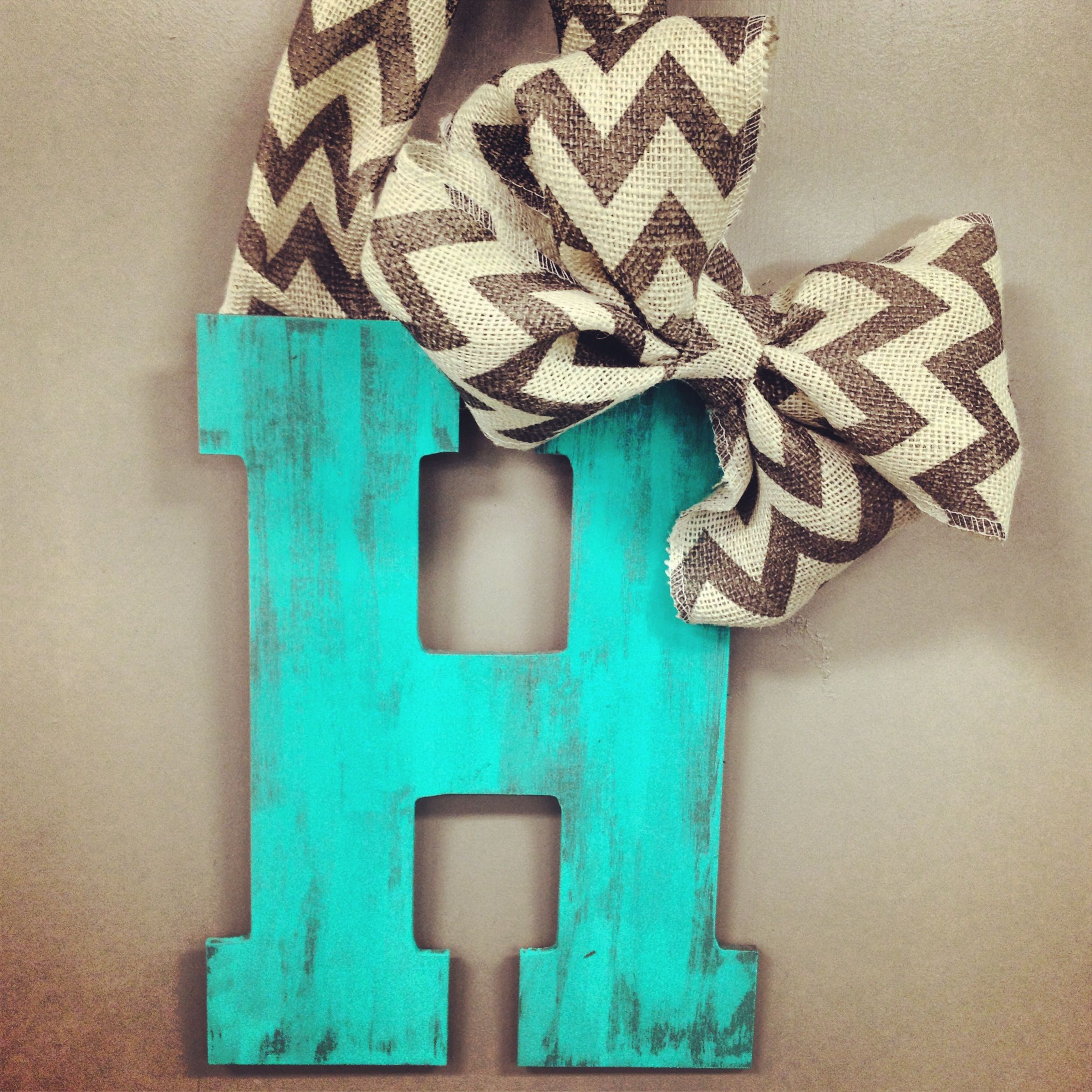 Distressed hanging door letter craft room craftiness pinterest