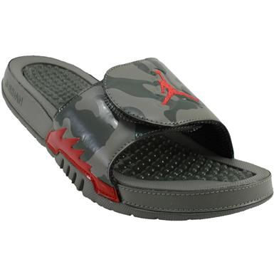 a2b2e7b06ae Air Jordan Hydro 6 Retro Slide Sandals - Mens Dark Stucco University Red