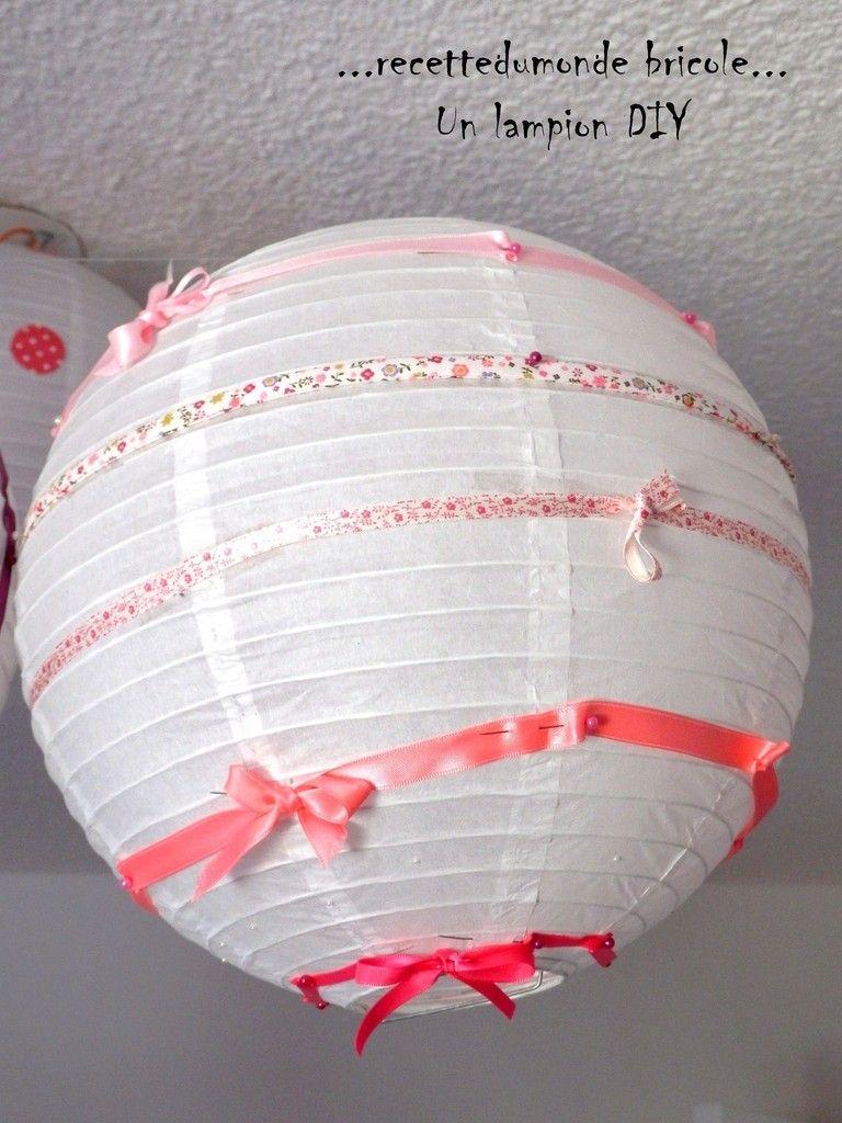 Idee Deco Chambre De Fillette Lampions Diy Chambre Fille Pinterest