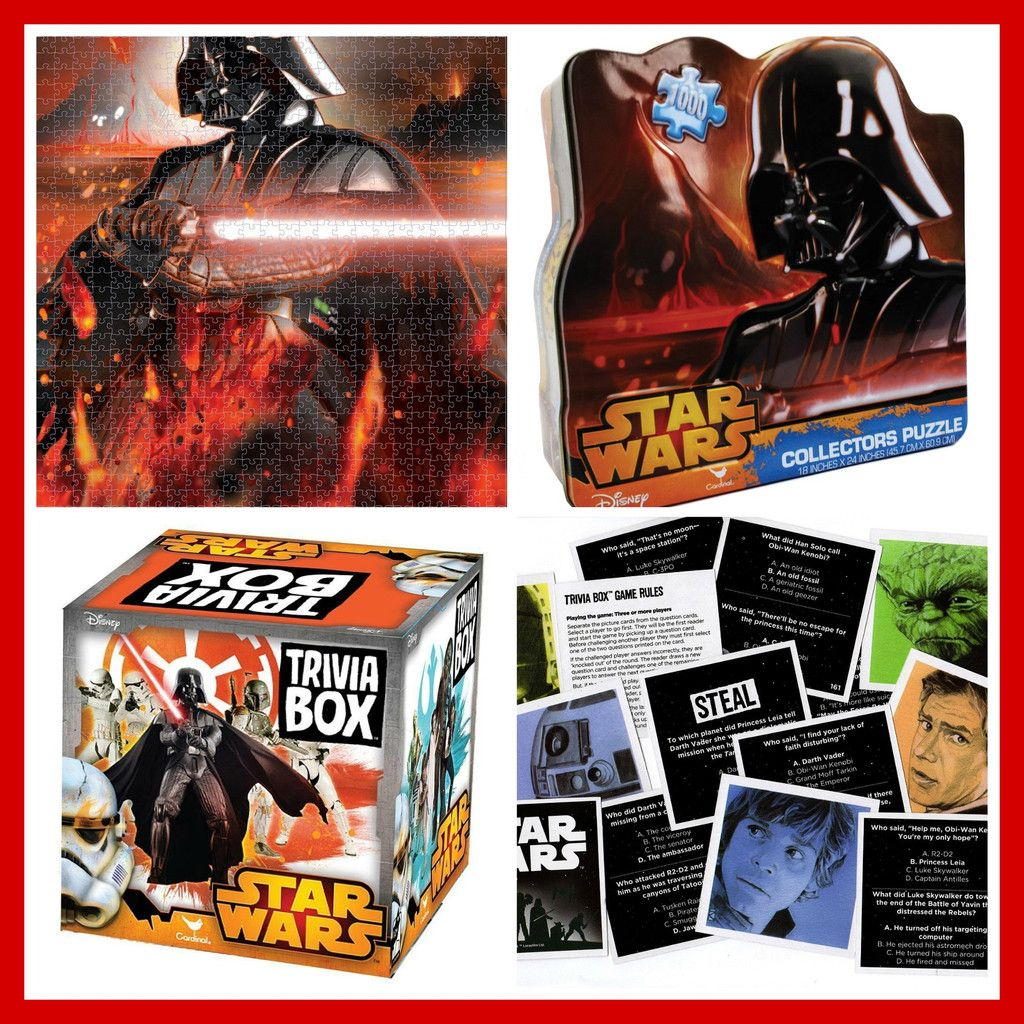 Star Wars Puzzle and Trivia Bundle