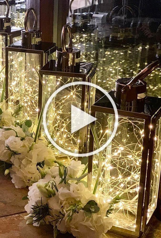 Überlegen Sie, wie Sie Ihr Herzstück dekorieren sollen? Wir schlagen vor, Laterne weddin zu betrachten …   – Christmas Diy Decor Ideas