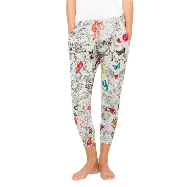 6c4b3733525 Desigual Bolimania Vigore Pyjama Trousers ($66) via Polyvore featuring  intimates, sleepwear, pajamas and desigual