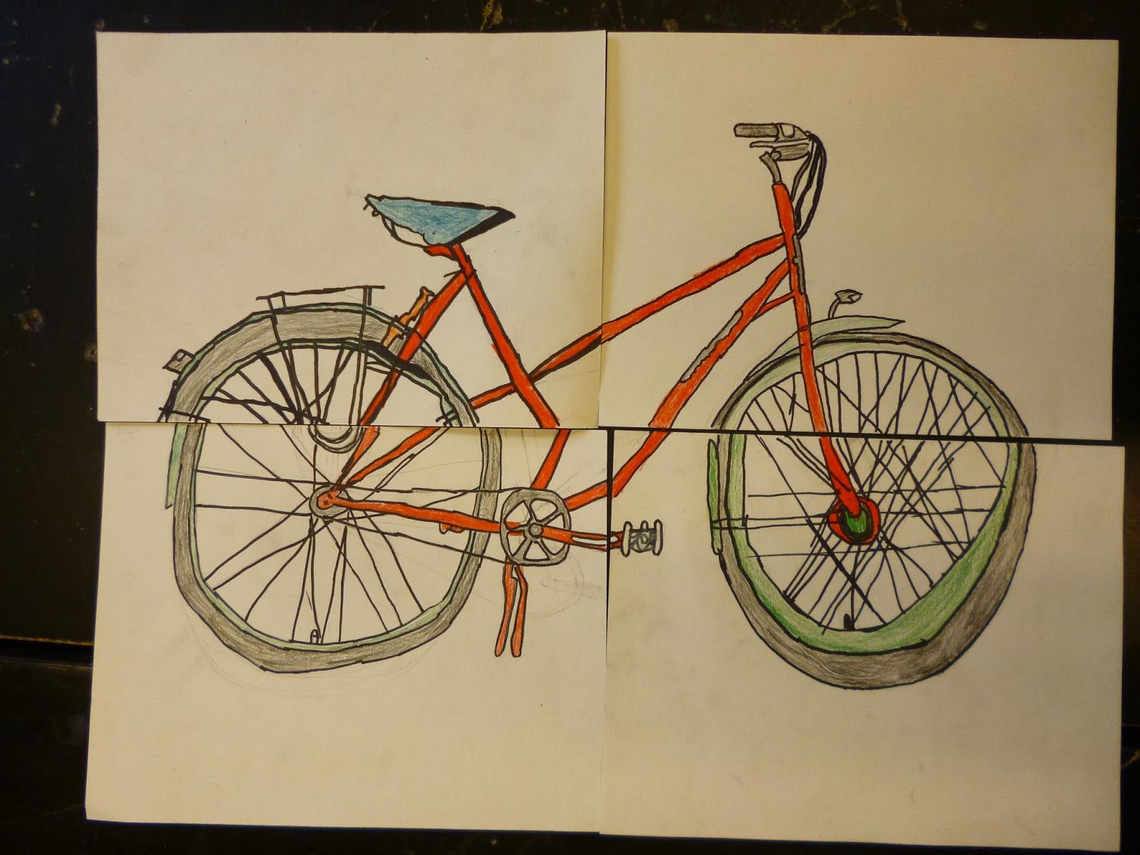 Artistic Freedom Bike Group Project Update One More To