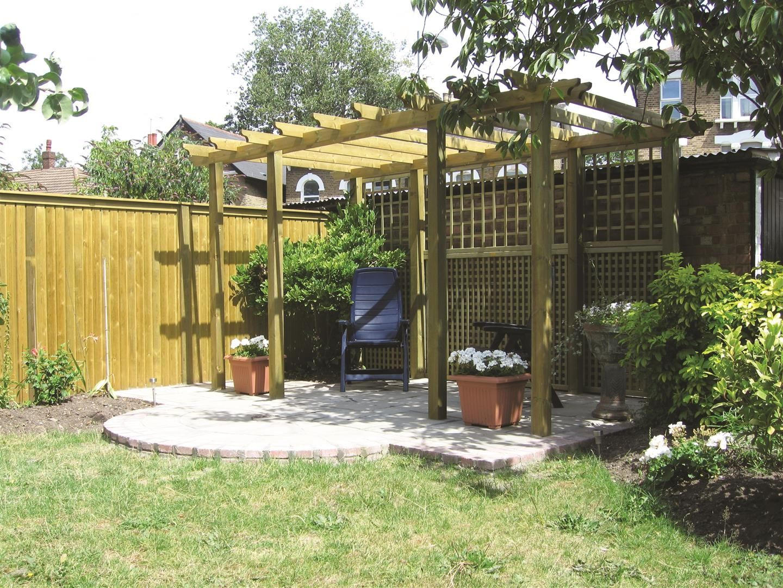 Large #pergola With #trellis | #garden #home #ideas
