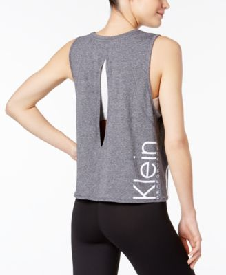 67c26d33de3af1 Calvin Klein Performance Cropped Logo Tank Top - Black XXL | Products