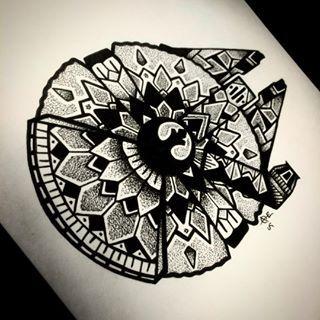 Star Wars Mandala Google Search Tattoos Rebel Alliance