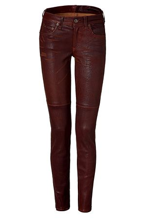 3bed7ff0013b64 The Skinny washed brown leather pants | Funky Fresh in 2019 | Brown ...