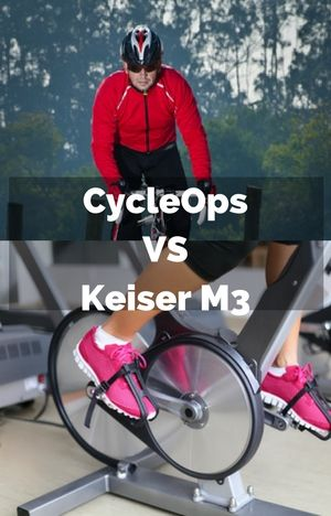 Keiser M3 Vs Cycleops Two Top Names Go Up Against Each Other