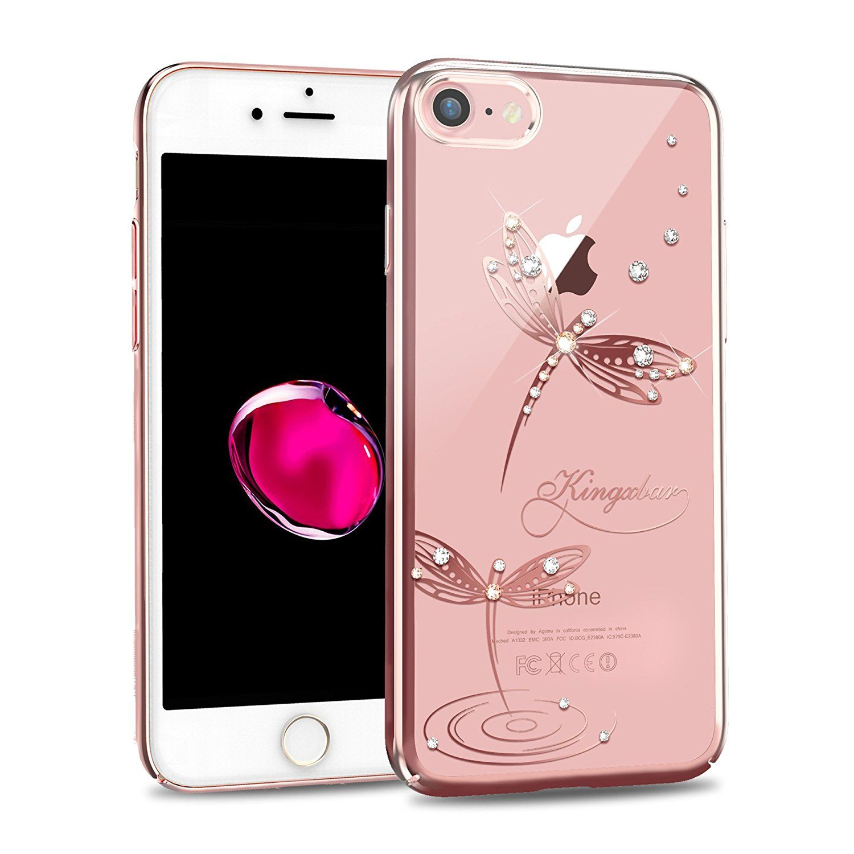 Kingxbar for apple iphone 8 case iphone 7 case bling