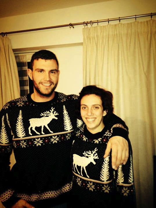 e7dc722378b1c We love the matching his and hers Christmas jumpers Heidi Chilvers ...