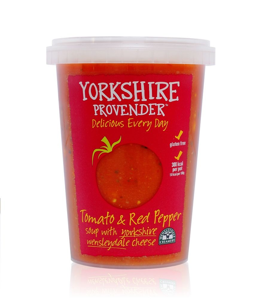 Wensleydale Creamery Yorkshire Provender Announce Brand Partnership Stuffed Pepper Soup Red Pepper Soup Tomato Red Pepper Soup
