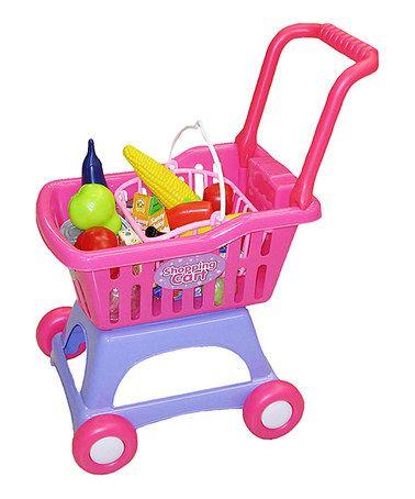 Loving this Pink 26-Piece Shopping Cart Set on #zulily! #zulilyfinds