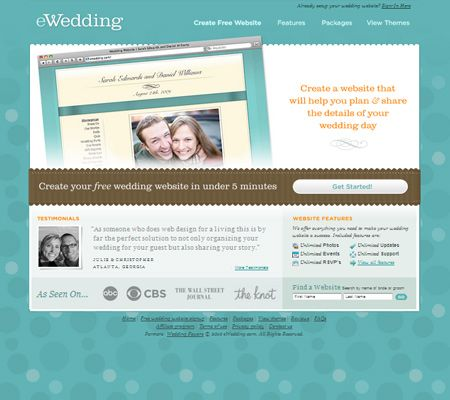 Start a Wedding Website Today With EWedding – Best Free Wedding Planning Sites