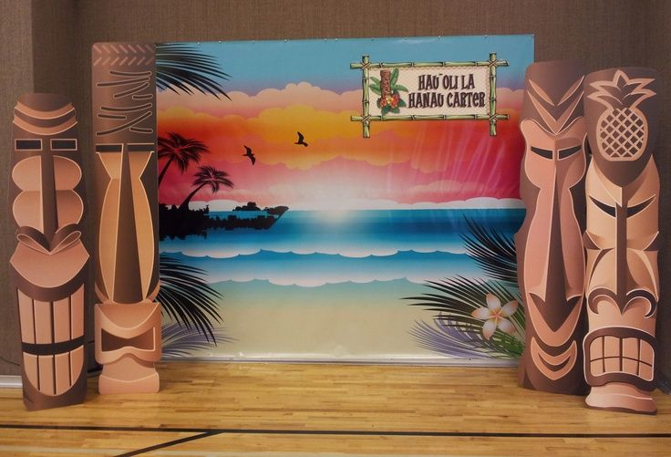 diy hawaiian stage decorations , Google Search