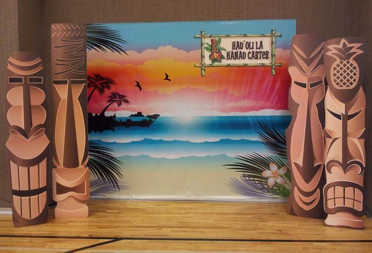 Diy Hawaiian Stage Decorations Google Search Hawaiian