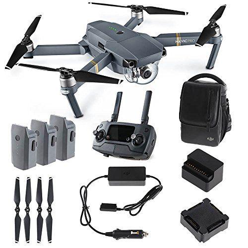 Drone World Dji Mavic Pro Fly More Combo Foldable Quadco Drones Drones Caseros Drones Con Camara