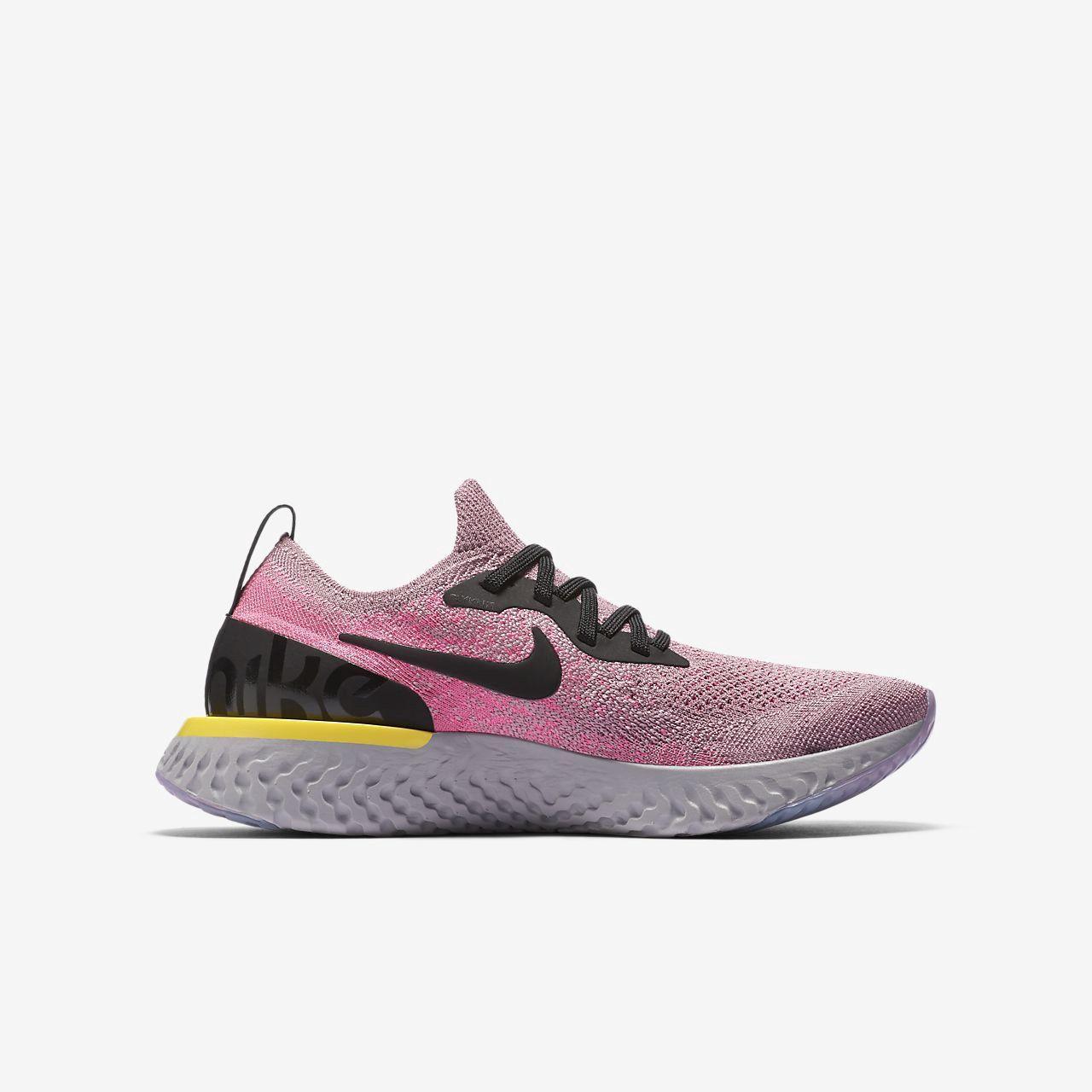 Nike Epic React Flyknit Big Kids' Running Shoe 5.5Y