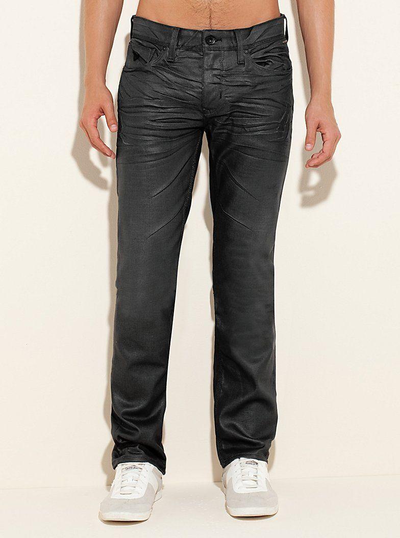 Lincoln original straight jeans in gunmetal grey solar