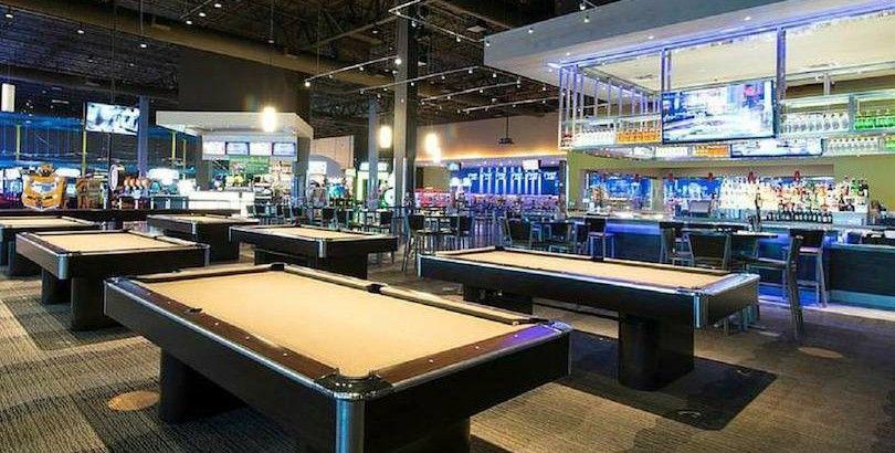 main event entertainment complex Pool halls, Event
