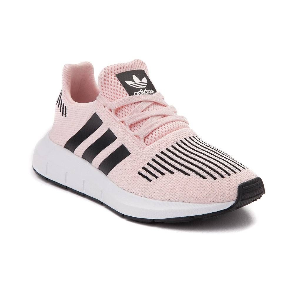 165a9024258a9 Youth adidas Swift Run Athletic Shoe - Ice Pink Black - 1436343 ...