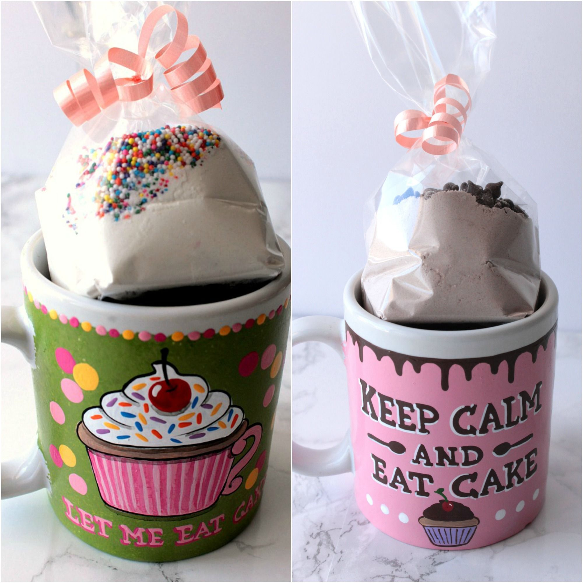 Just Add Water Mug Cake And Mix Recipe Gift Set