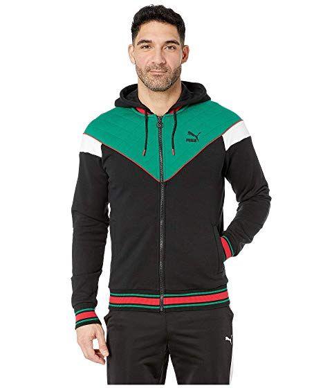 4f1192821c30 PUMA Lux Mcs Hooded Track Jacket