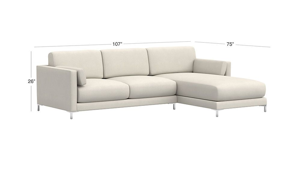 Fine District Dove 2 Piece Sectional Sofa Mcmanaman 2 Piece Short Links Chair Design For Home Short Linksinfo