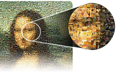 photo mosaic photoshop - Google Search | photo mosaics | Pinterest ...