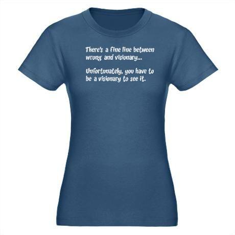 Bbt Stock Quote Sheldon  Quote Visionary Women's Dark Women's Classic Tshirt