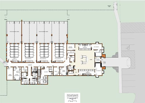 Animal shelter design floor plans animalshelter for Dog kennel floor plans