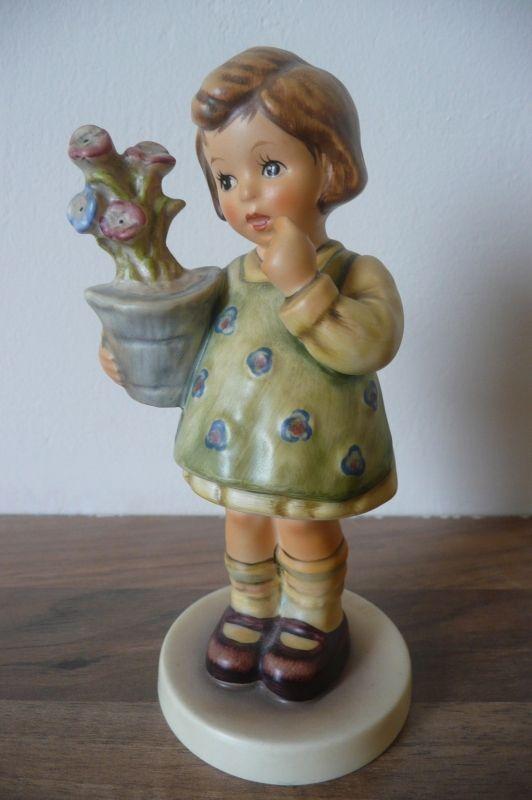Originele Hummel nr. 463/0 My Wish is Small / Mein wunch ist klein 14 cm Goebel
