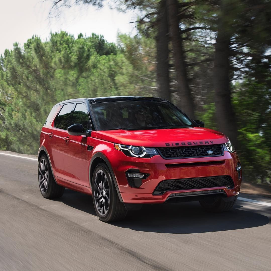 In this case, red means go. DiscoverySport In this case