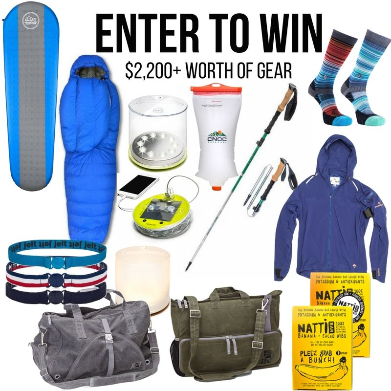 quality design e1199 133c4 Summer Camping Gear Giveaway ($2,200+ Worth of Gear ...