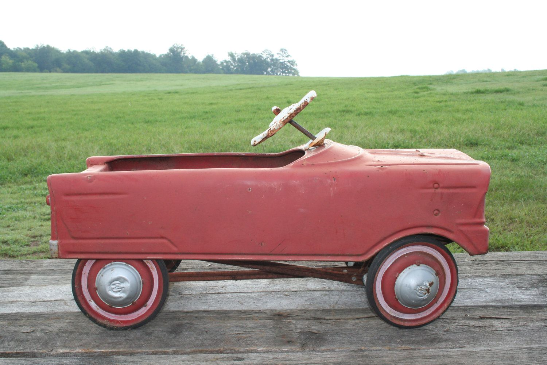 Old School Pedal Car Pedal Cars Vintage Pedal Cars Pedal