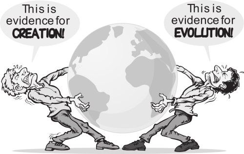 thesis on creationism vs evolution