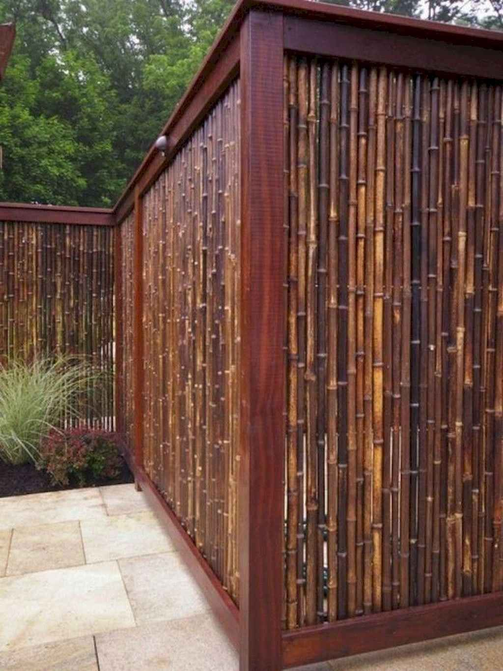 54 Easy And Cheap Privacy Fence Design Ideas Domakeover Com Cheap Privacy Fence Privacy Fence Designs Privacy Fence Landscaping