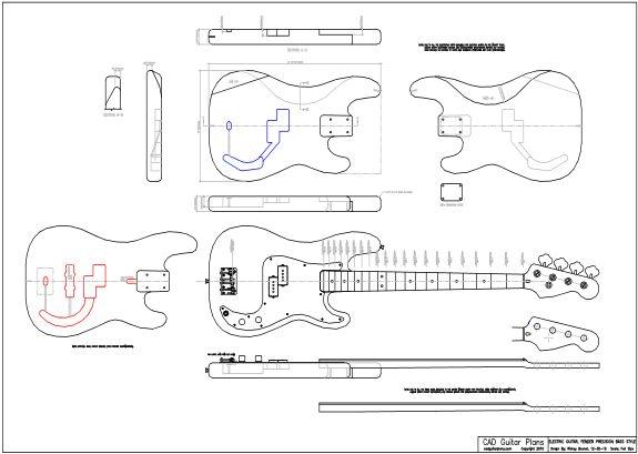 electric guitar fender precision bass