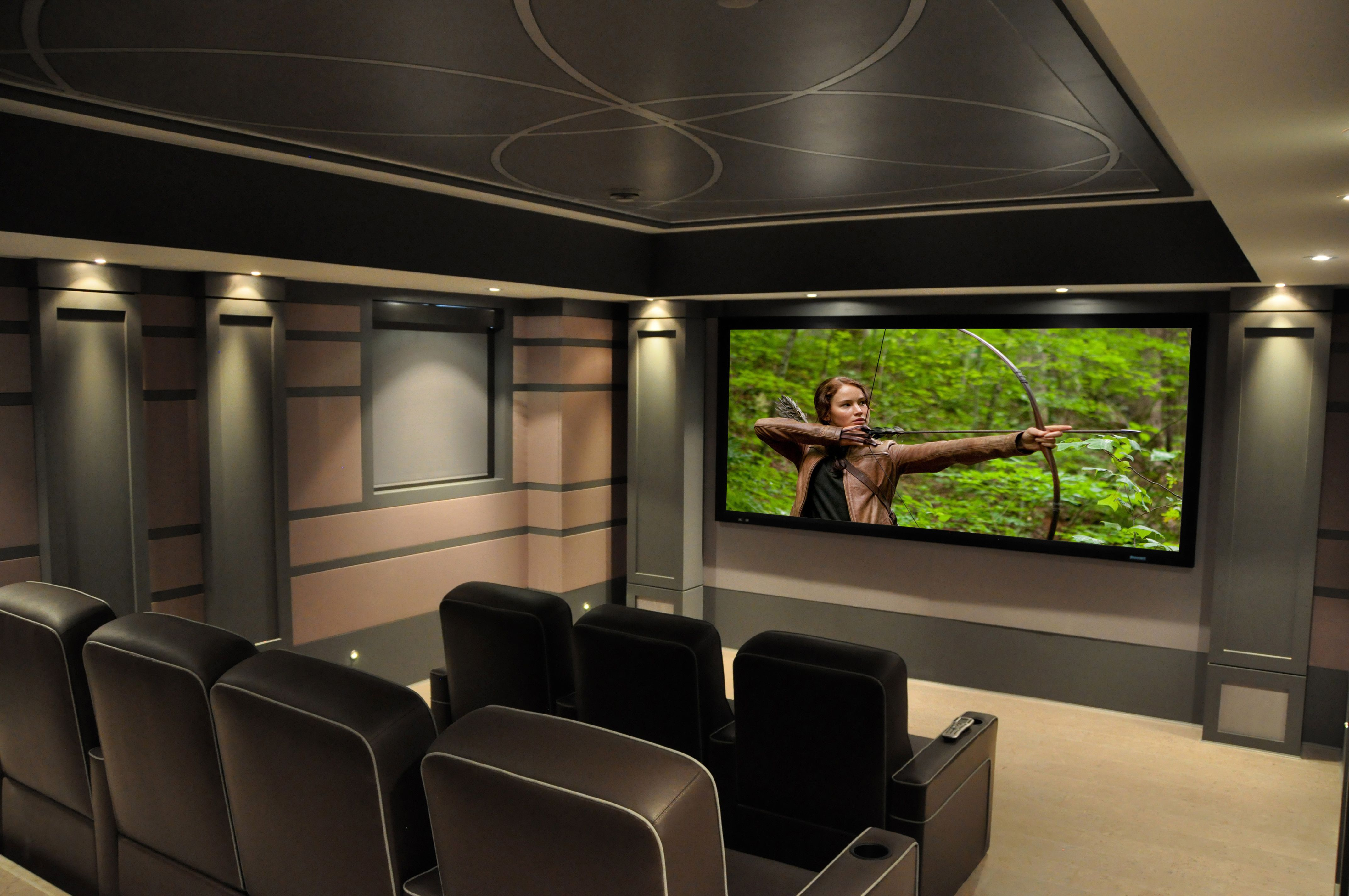 H2 Systems | Home Theatre Photo Gallery | Burlington Ontario | Homes ...