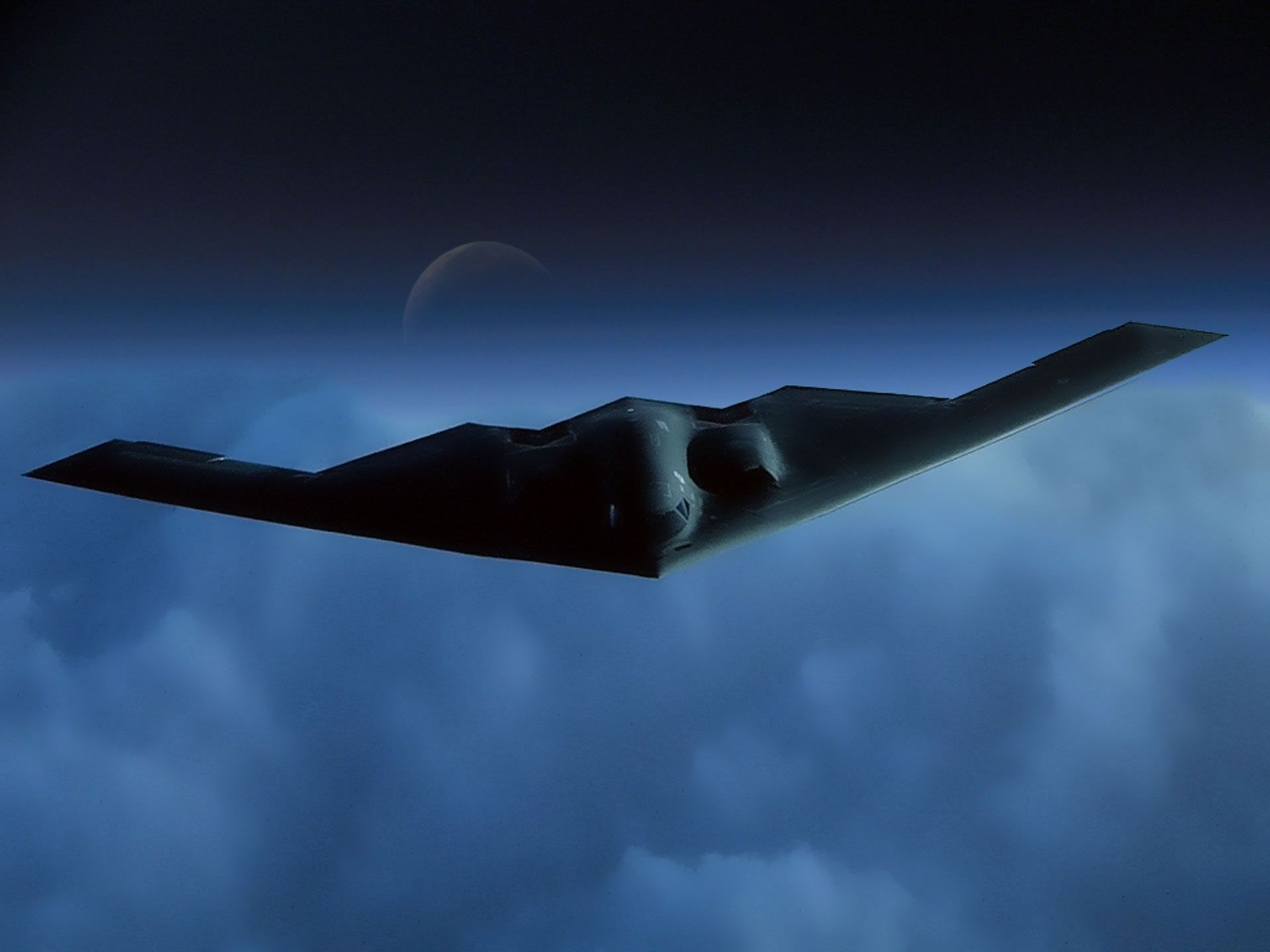 Обои bomber, b-2 spirit. Авиация foto 8