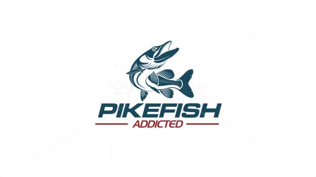 Pike Fishing Ready Made Logo Designs 99designs 99designs Logo Logo Fishing Fish Logo