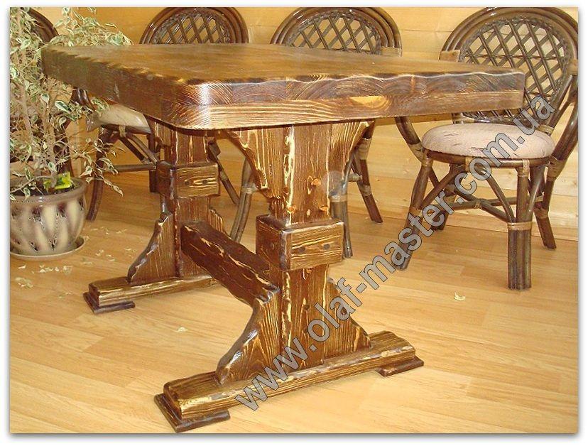 стол из массива дерева под старину стол из дерева стол